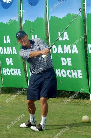Britain's David Steele Former Professional Golf Player For Eight Years in Europe Pictured Wednesday 04 June 2003 in Marbella During His Attempt to Break the World Record on 800 Holes Played in 24 Hours Epa-photo/efe/al Spain Marbella (malaga)