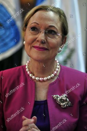 European Commissioner For Trade Benita Ferrero-waldner Speaks During a Press Conference in Guatemala City Guatemala 18 January 2010 Ferrero-waldner Said European Union and Guatemala Including Honduras Will Sign an Association Trade on 18 May 2010 in Madrid Spain Guatemala Guatemala City