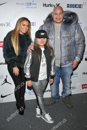Lorena Cartagena, Azariah Cartagena and Fat Joe