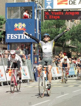 Editorial picture of Cycling-aragon Tour/wuest