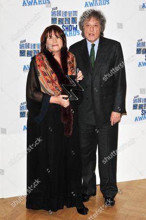 Linda Grant, winner, literature and Sir Tom Stoppard.