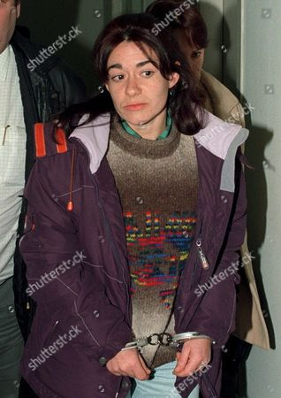 Md-21 20011210- Madrid Spain: Suspected Eta Member Monica Martinez Lopez Arrives at the Barajas Airport on Monday 10 December in Madrid After Being Extradited by France to Spain Monica Martinez Lopez is Charged For Giving Information to Eta Vizcaya Command and Taking Part in Numerous Attacks As a Supposed Member of a Eta Support Group Epa Photo Efe/dgp Spain Madrid