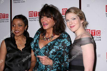 Brenda Pressley, Mercedes Ruehl, Lily Rabe