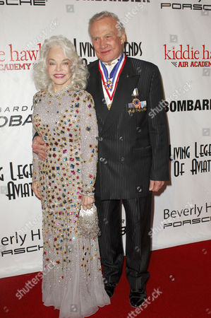 Dr. Buzz Aldrin and Lois Driggs Cannon