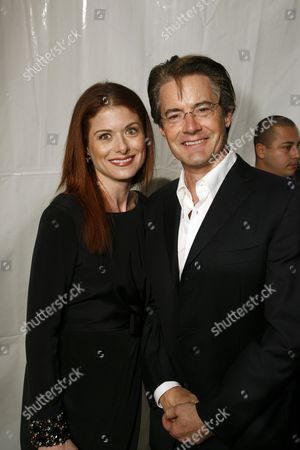 Debra Messing and Kyle McLaughlin