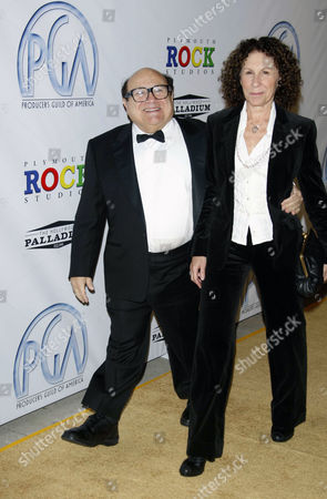 Danny Devito and wife Rhea Pearlman