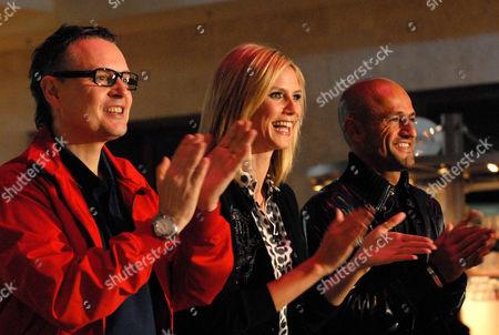 Rolf Scheider, Heidi Klum and Peyman Amin