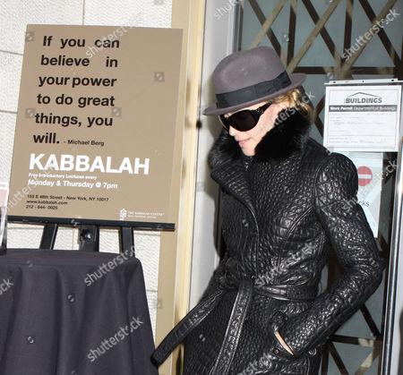Madonna leaving