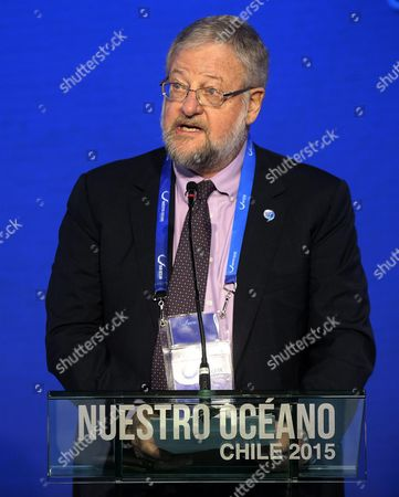 Us Philanthropist David Rockefeller Jr Speaks During the Conference 'Our Ocean' (nuestro Oceano) Chile 2015 in Valaparaiso Chile 06 October 2015 According to the Organizers of the Conference More Than 400 Leaders From Government Academia and Civil Society who Are Committed to Protecting the Ocean Are Expected to Participate the Event From 05 to 06 October Chile Valparaiso