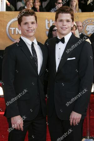 Stock Image of Charles Carver and Max Carver