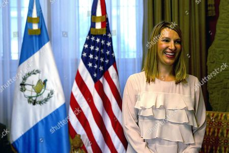 Stock Picture of Us Deputy Secretary of State For Management and Resources Heather Higginbottom Meets President of Guatemala Alejandro Maldonado (not Pictured) in Guatemala City Guatemala 16 October 2015 Higginbottom Announced the Donation Made by the Usa of Five Million Us Dollar to the International Commission Against Impunity in Guatemala (cicig) to Help Fight Corruption Guatemala Guatemala City