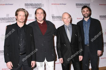 Paul Sparks, Peter Stormare, Michael Cerveris and Christopher Shinn