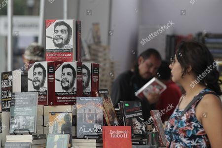 Stock Photo of General View of the Zocalo Book Fair in Mexicy City Mexico 09 October 2015 the Fair Begun with a Tribute to Uruguayan Writer Eduardo Galeano the United Kingdom As a Guest of Honor Sent an Important Group of Writers Like the Poets Sean O'brien Fabian Peake Tiffany Atkinson William Herbert and Michael Hofmann and Narrators Chaz Brenchleym Quentin Crisp Iain Rowan Matt Whyman and Ben Brooks Mexico Mexico City