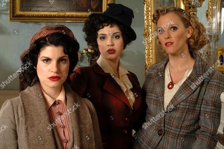 'Agatha Christie Poirot' - The Third Girl - TV - 2008 - Jemima Rooper, Matilda Sturridge, Clemency Burton-Hill