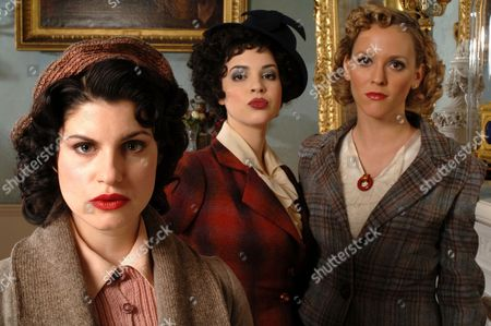 'Agatha Christie Poirot' - The Third Girl - TV - 2008 - Jemima Rooper, Matilda Sturridge, Clemency Burton-Hill