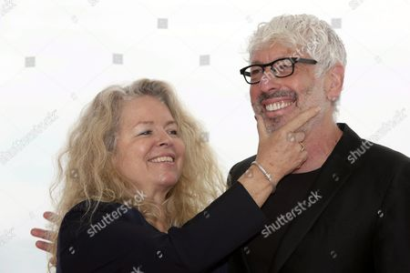 Canadian Film Director Patricia Rozema (l) and Producer Niv Fichman Pose For Photographers During the Photocall of 'Into the Forest' at the 48th Sitges International Fantastic Film Festival in Sitges Near Barcelona Spain 17 October 2015 the Festival Runs From 09 to 18 October Spain Sitges (barcelona)