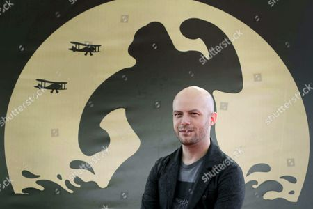 Stock Photo of Us Film Maker Ted Geoghegan Poses During the Presentation of the Film 'We Are Still Here' at the 48th Sitges International Fantastic Film Festival in Sitges Near Barcelona Spain 11 October 2015 the Festival Runs From 09 to 18 October Spain Sitges (barcelona)