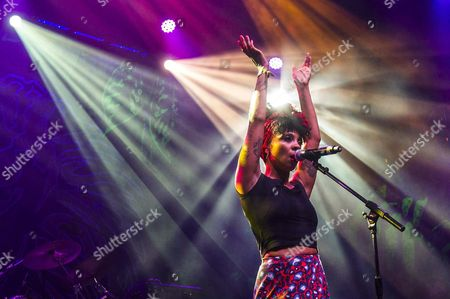 British Singer Hollie Cook Performs During a Concert Held As Part of 22th Rototom Sunsplash Reggae Music Festival in Benicassim Castellon Northeastern Spain Late 16 August 2015 Spain Benic?ssim (castell?n)