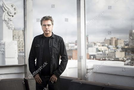 French Composer and Music Producer Jean Michel Jarre Poses For the Photographer During an Interview to Present His Lastest Album 'Electronica 1: the Time Machine' in Madrid Spain 06 October 2015 the Album Features Some Collaborations with Artists Like Moby Vince Clarke M83 Air 3d (massive Attack) and Lang Lang Spain Madrid