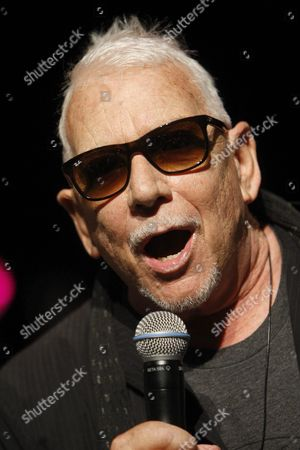 British Singer-songwriter and Vocalist of Rock Band the Animals Eric Burdon Adresses to His Fans During a Meeting Held in Vigo Galicia Northwestern of Spain on 30 July 2015 Spain Vigo