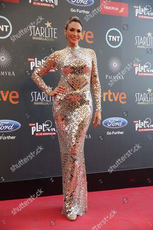 Panamanian Actress Patricia De Leon Arrives For the Platino Iberoamerican Film Awards Ceremony in Marbella Malaga Spain 18 July 2015 Spain Marbella
