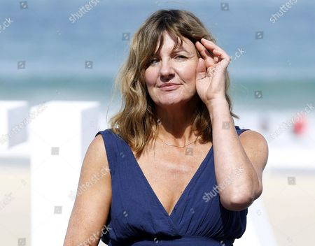 British Actress/cast Member Clare Burt Poses During the Presentation of the Film 'London Road' at the Official Section of the 63rd Annual San Sebastian International Film Festival in San Sebastian Spain 26 September 2015 the Festival Runs From 18 to 26 September Spain San Sebastian