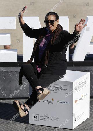 Spanish Actress/cast Member Terele Pavez Poses During the Photocall of the Film 'My Big Night' at the 63rd Annual San Sebastian International Film Festival in San Sebastian Spain 20 September 2015 the Festival Runs From 18 to 26 September Spain San Sebastian