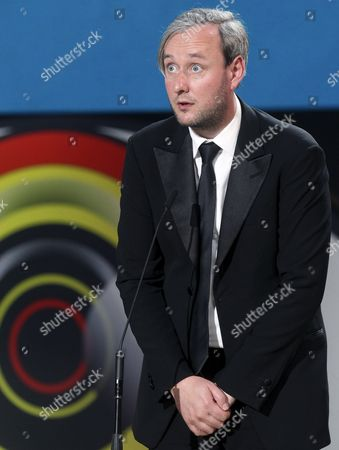Iceland's Filmmaker Runar Runarsson Speaks After Received the 'Concha De Oro' Award For His Film 'Sparrows' During the Closing Ceremony of the 63rd Annual San Sebastian International Film Festival in San Sebastian Spain 26 September 2015 the Festival Runs From 18 to 26 September Spain San Sebastian