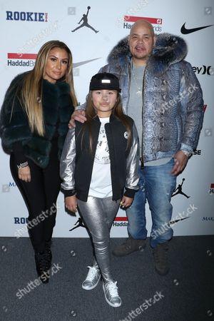 Lorena Cartagena, Azariah Cartagena, and Fat Joe