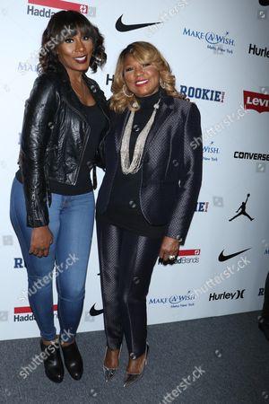 Towanda Braxton and mother Evelyn Braxton