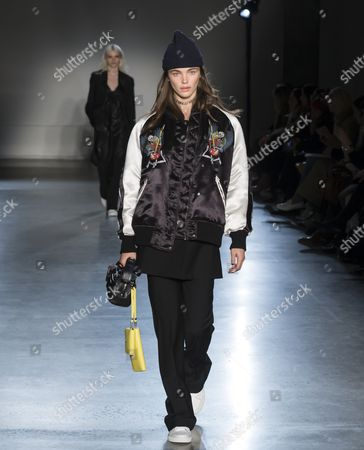 Editorial picture of Zadig and Voltaire show, Runway, Fall Winter 2017, New York Fashion Week, USA - 13 Feb 2017