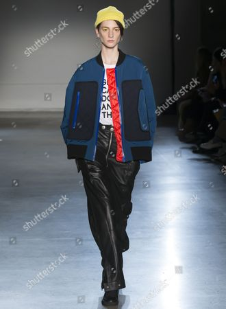 Editorial photo of Zadig and Voltaire show, Runway, Fall Winter 2017, New York Fashion Week, USA - 13 Feb 2017