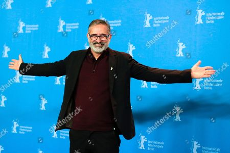 Director Marcelo Gomes poses for the photographers during a photo call for the film 'Joaquim' at the 2017 Berlinale Film Festival in Berlin, Germany