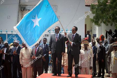 Mohamed Abdullahi Farmajo and Hassan Sheik Mohamud