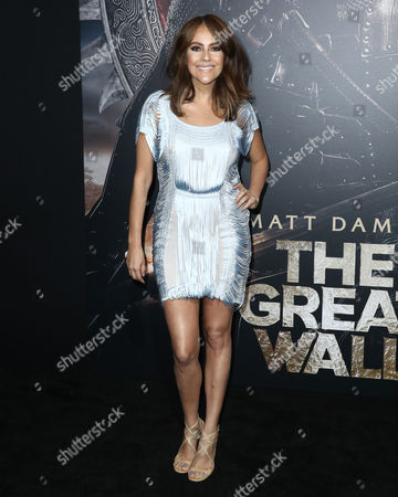 Editorial picture of 'The Great Wall' film premiere, Los Angeles, USA - 15 Feb 2017