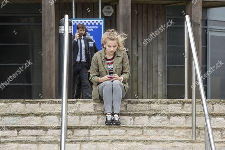 'Broadchurch - Series 3': Hannah Rae as Daisy Hardy.