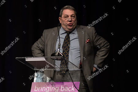 David Coburn MEP delivers his speech to the conference. The UKIP Spring Conference at the Macron Stadium