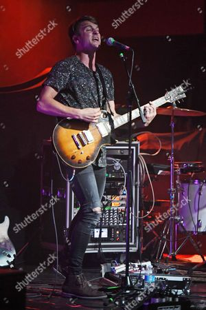Editorial photo of Vinyl Theatre performs at Revolution, Fort Lauderdale, Florida, USA - 15 Feb 2017