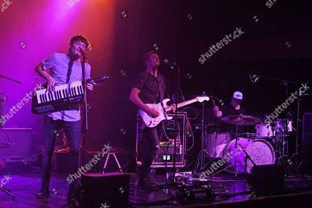 Editorial picture of Vinyl Theatre performs at Revolution, Fort Lauderdale, Florida, USA - 15 Feb 2017