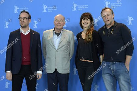 Editorial picture of Masaryk Photocall - 67th Berlin Film Festival, Germany - 16 Feb 2017