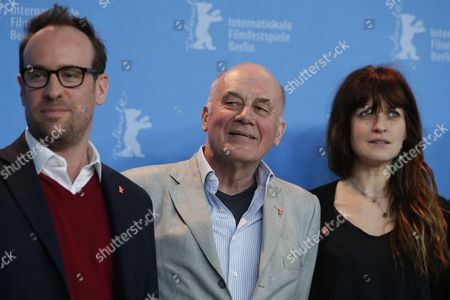 Hanns Zischler, Julius Sevcik and Arly Jover