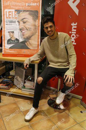 Editorial picture of Esposito Lele album signing, Pomigliano d'Arco, Italy - 15 Feb 2017