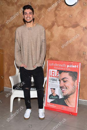 Editorial photo of Esposito Lele album signing, Pomigliano d'Arco, Italy - 15 Feb 2017