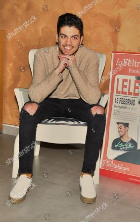 Editorial image of Esposito Lele album signing, Pomigliano d'Arco, Italy - 15 Feb 2017