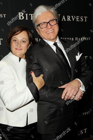 Ian Ihnatowycz (Producer) with wife Marta