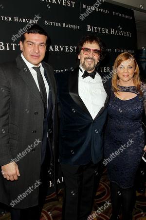 Tamer Hassan, George Mendeluk (Director), Camilla Storey (Producer)