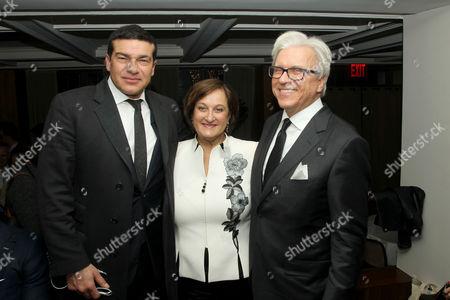 Stock Picture of Tamer Hassan, Marta Ihnatowycz, Ian Ihnatowycz (Producer)