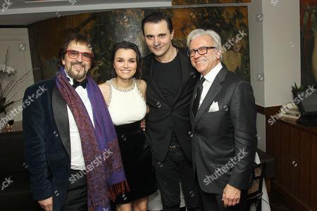 George Mendeluk (Director), Samantha Barks, Darius Campbell, Ian Ihnatowycz (Producer)