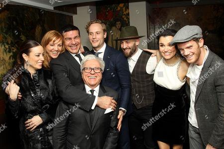 Ian Ihnatowycz (Producer) with cast and friends