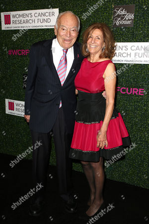 Stock Photo of Leonard Lauder and Evelyn Lauder